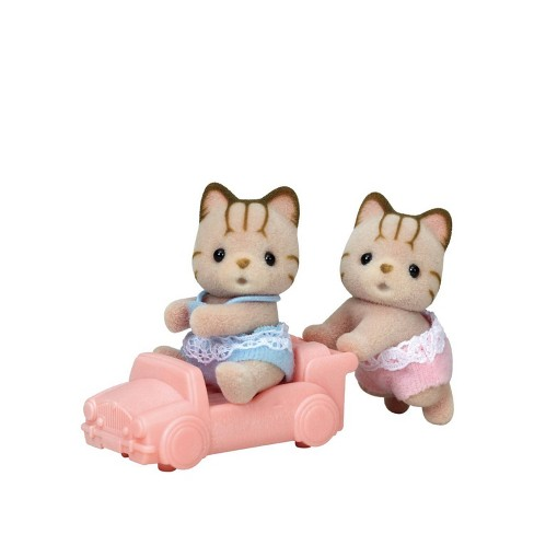Calico Critters Sandy Cat Twins - image 1 of 3