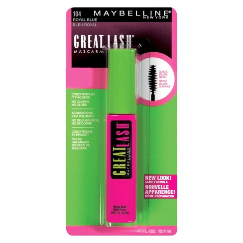 70ed4beee99 Maybelline Great Lash Washable Mascara - 104 Royal Blue - 0.43 Fl Oz ...