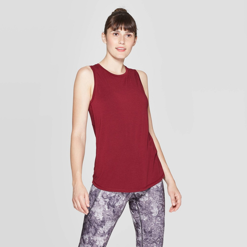 Image of Women's Active Wear Tank Top - C9 Champion Dark Berry L, Size: Large, Dark Pink