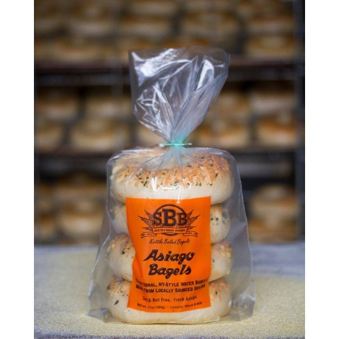 Seattle Bagel Bakery Asiago Bagel - 4ct - image 1 of 1