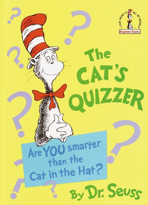 Cat's Quizzer (Reprint) (Hardcover) (Dr. Seuss) - image 1 of 1