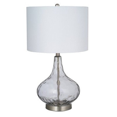 LED Table Lamp Gray (Includes Energy Efficient Light Bulb)- Cresswell Lighting
