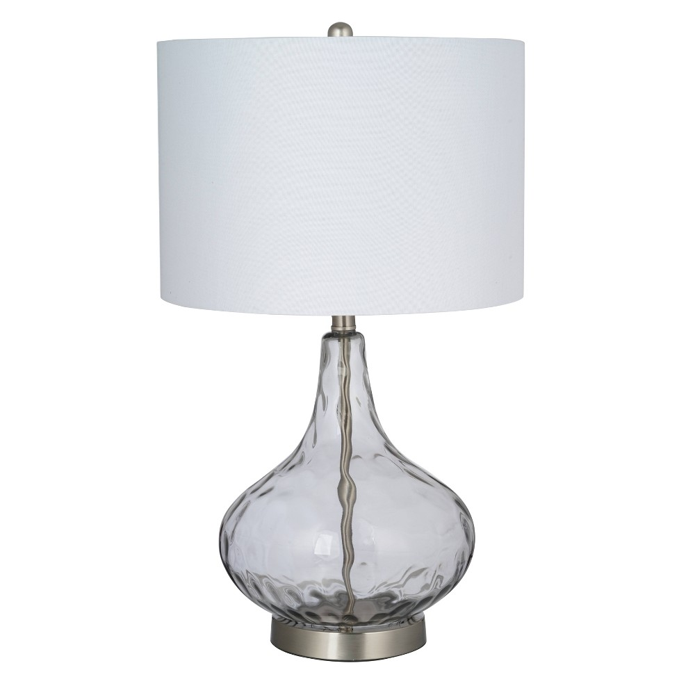 Image of Led Table Lamp Gray (Includes Energy Efficient Light Bulb) - Cresswell Lighting