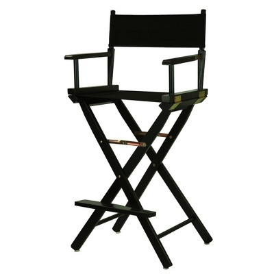BarHeight Director's Chair  Black Frame