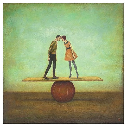 Finding Equilibrium by Duy Huynh Unframed Wall Art Print - image 1 of 2