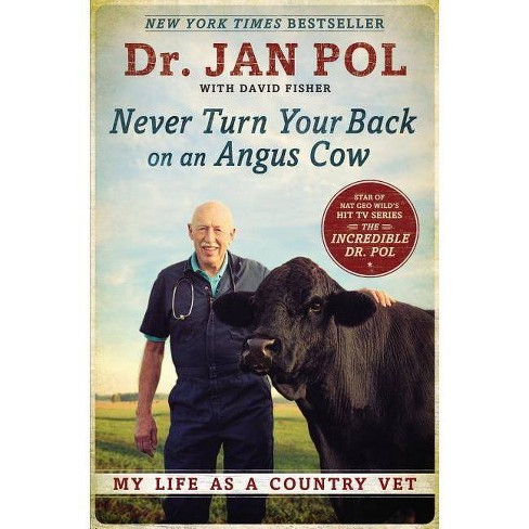 Never Turn Your Back on an Angus Cow - by Pol & David Fisher (Paperback)