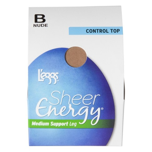 c3bb3f119 L eggs® Women s Sheer Energy Control Top Pantyhose - 65400 - A   Target