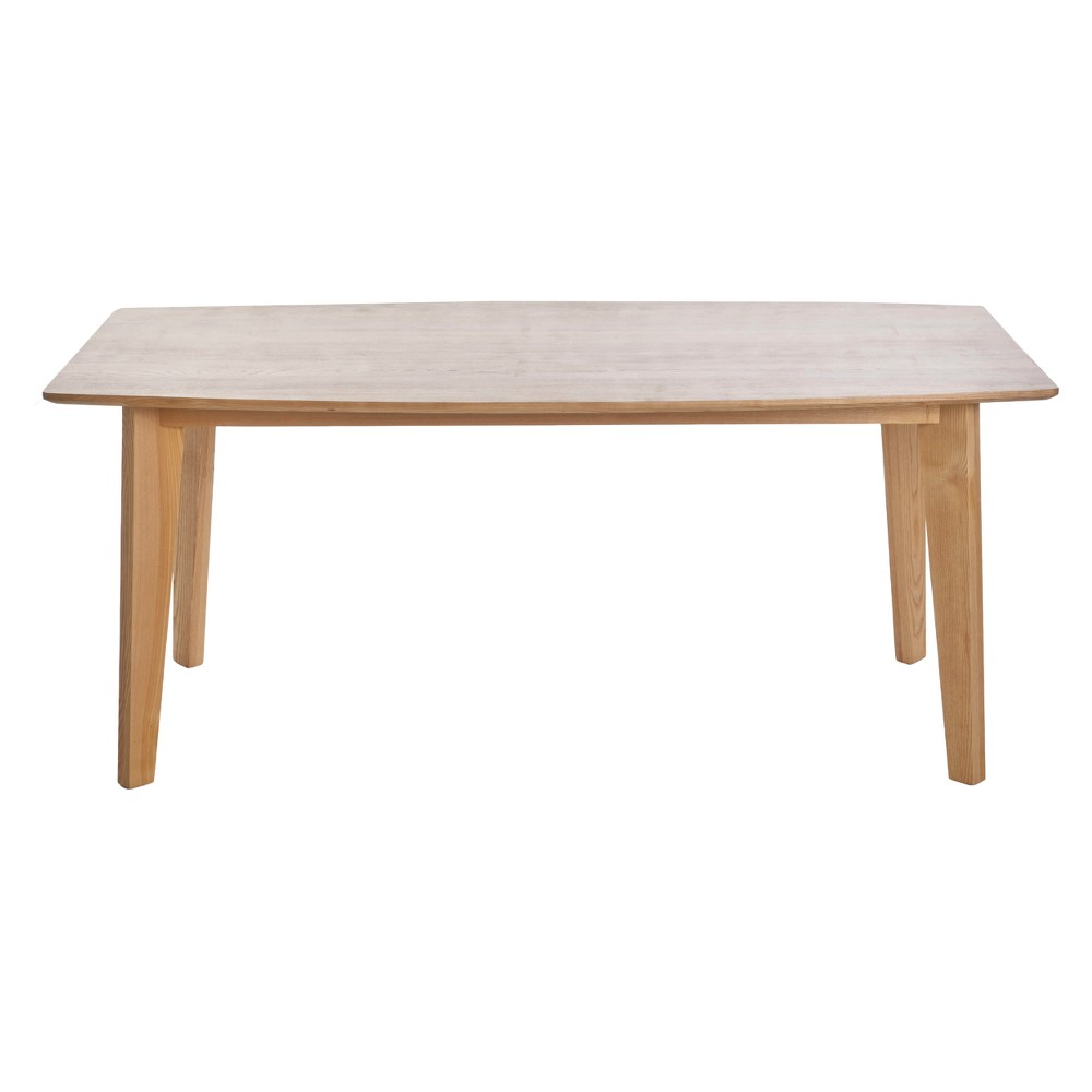 Best Cassian 71 Rectangular Wood Dining Table Ash Grey Christopher Knight Home