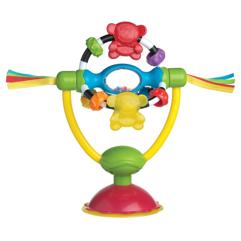 Playgro Spinning High Chair Toy, Multi-Colored