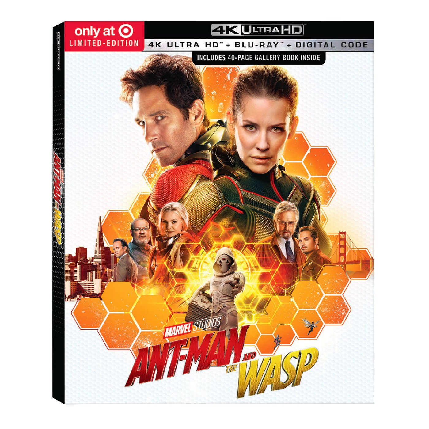 Ant-Man & the Wasp 2-Disc (Target Exclusive) (4K/UHD) - image 1 of 1