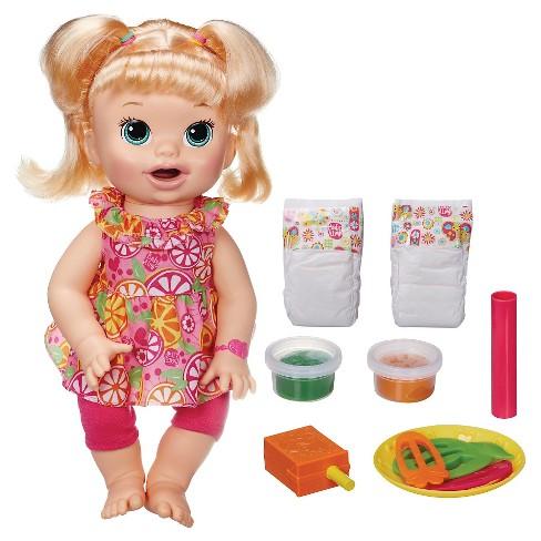 Baby Alive Super Snacks Snackin Sara Blonde Target