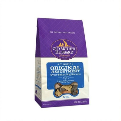 Old Mother Hubbard Classic Crunchy Extra Original Assortment Biscuits Mini Oven Baked Dog Treats