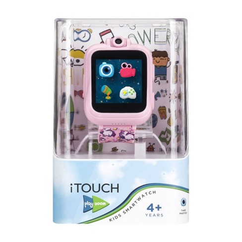 PlayZoom Interactive Educational Smartwatch for Kids 48mm - Pink Unicorn Band - image 1 of 4