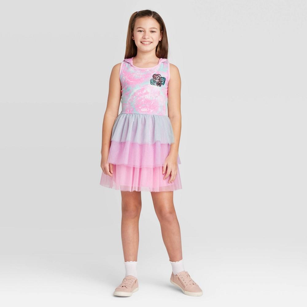 Image of Girls' L.O.L. Surprise! Dress - Pink L, Girl's, Size: Large