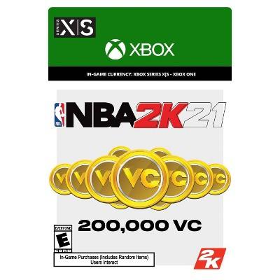NBA 2K21: 200,000 VC - Xbox Series X S/Xbox One (Digital)