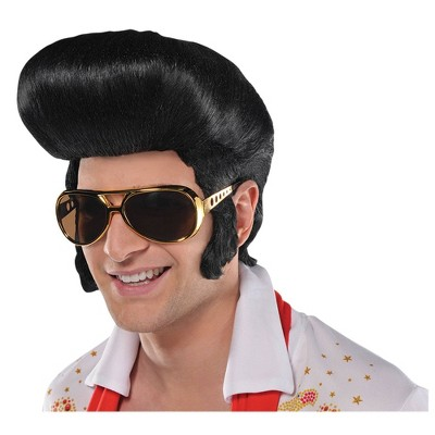 The King Halloween Costume Wig