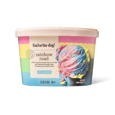 Rainbow Road Ice Cream - 48oz - Favorite Day™