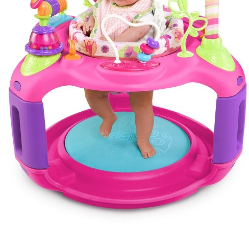 8fd15ee9e Bright Starts Pretty In Pink Bounce-A-Round Entertainer - Sweet ...