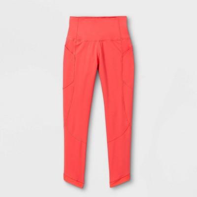 Girls' Mesh Pieced Side Pocket Leggings - All in Motion™