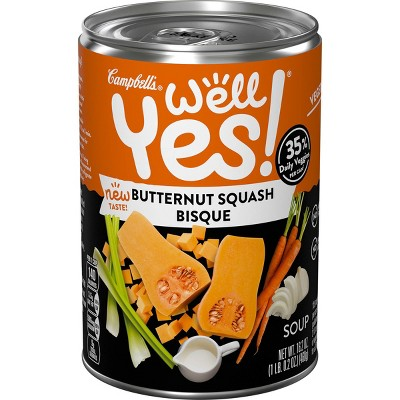 Campbell's Well Yes! Soup Butternut Squash - 16.2oz
