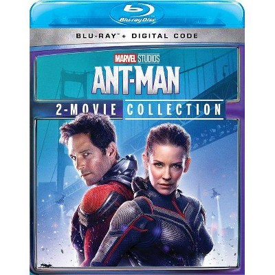 Ant-Man: 2-Movie Collection (Blu-ray + Digital)(2021)