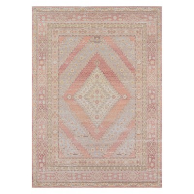 Isabella Seren Shapes Geometric Loomed Accent Rug - Momeni