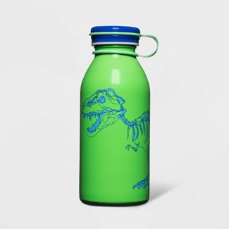 12oz Stainless Steel Water Bottle Dino Green - Cat & Jack™