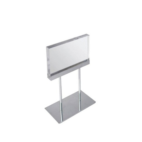 Azar Displays 11'' x 8.5'' Deluxe Horizontal Acrylic Block Stand - image 1 of 1