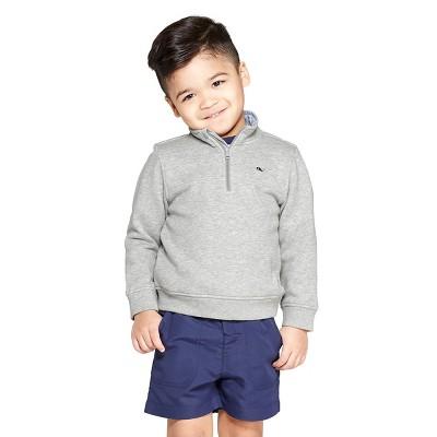 519932fbddd Toddler Boys  1 4 Zip Pullover Sweatshirt - Gray - vineyard vines® for