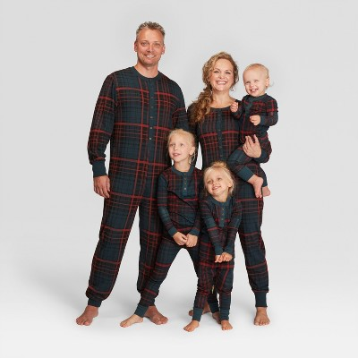 plaid holiday family pajamas collection hearth hand with