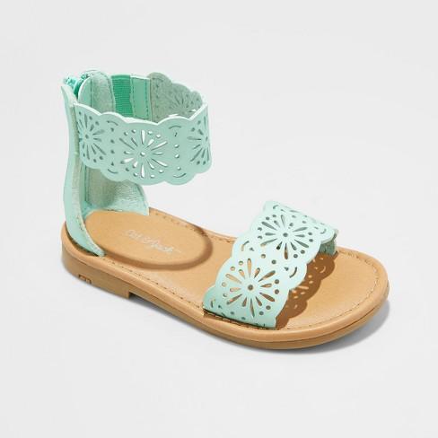 1e0b806e31e Toddler Girls  Dara Two Piece Gladiator Sandals - Cat   Jack™   Target
