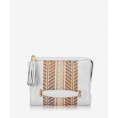 GiGi New York White Dana Crossbody Bag