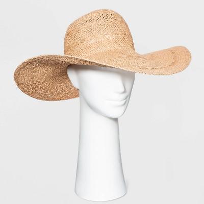 Women's Straw Floppy Hat - A New Day™