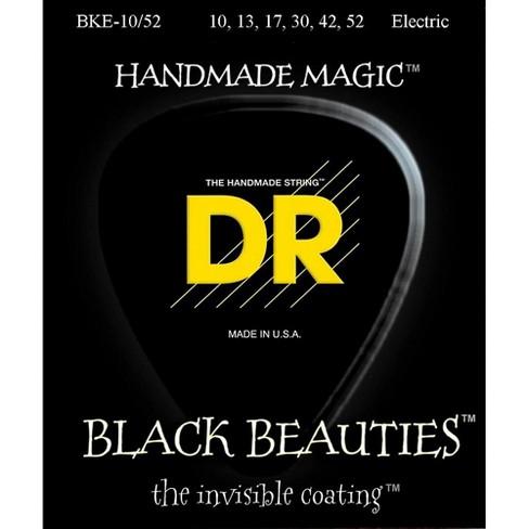 DR Strings Black Beauties Coated Electric Strings Medium-Heavy (10-52) - image 1 of 2