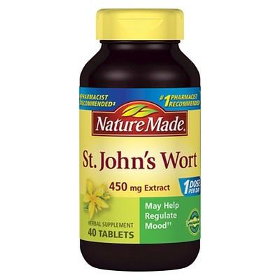 Vitamins & Supplements: Nature Made St. John's Wort