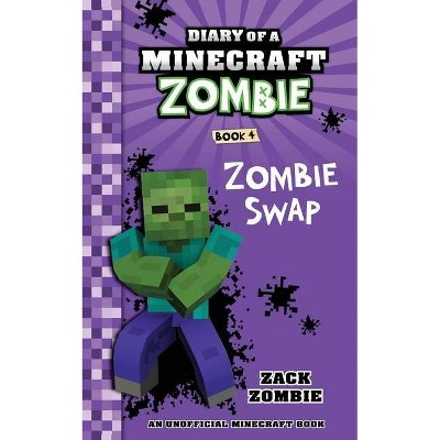Diary of a Minecraft Zombie Book 4 - by  Zack Zombie (Paperback)