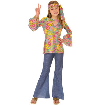 Rubies Groovy Flower Child Child Costume