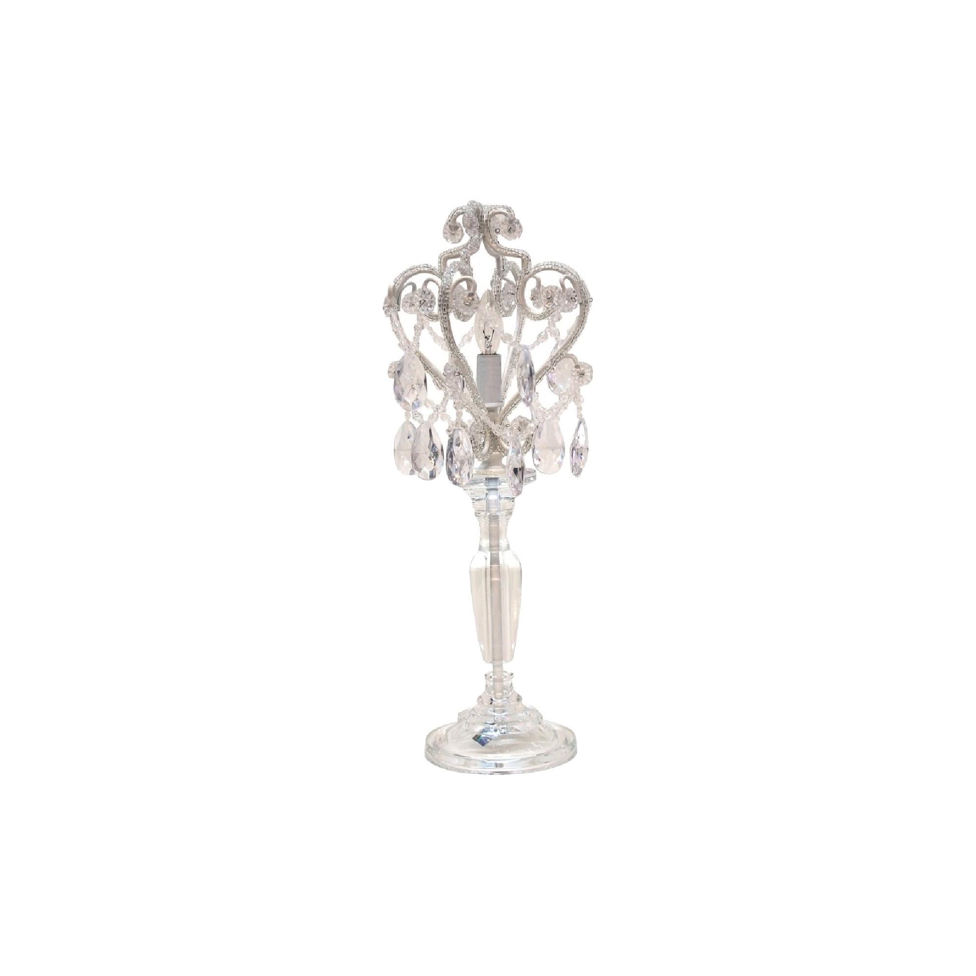 Tadpoles Chandelier Table Lamp - Diamond (Lamp Only), Women's