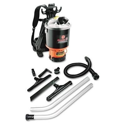 Hoover Commercial C2401 9.6 Amp 2-Stage 120 CFM Backpack Vacuum - Black