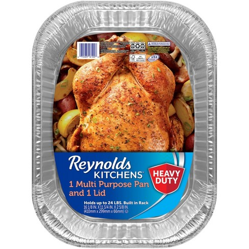 Reynolds Disposable Bakeware Multipurpose Pan with Lid - 1ct - image 1 of 4