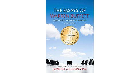 Essays of Warren Buffett : Lessons for Corporate America (Paperback) (Warren E. Buffett) - image 1 of 1
