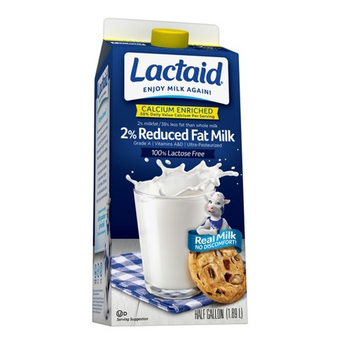 Lactaid Lactose-Free Calcium Enriched 2% Milk - 0.5gal - image 1 of 1