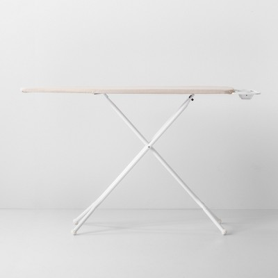 Standard Ironing Board With Tray White Metal - Made By Design™