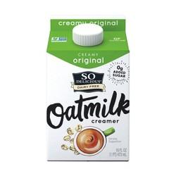 So Delicious Creamy Original Oat Creamer - 16 fl oz
