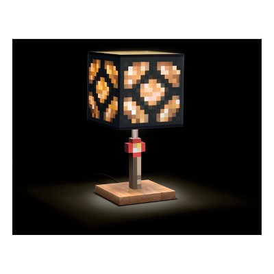 Minecraft Glowstone Table Lamp