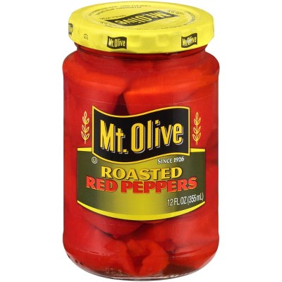 Mt. Olive Roasted Red Peppers - 12 fl oz