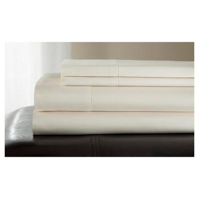 Andiamo Cotton Sheet Set (King)Ivory