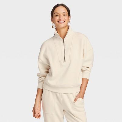 Women's Quarter Zip Sweatshirt - Universal Thread™