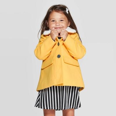 Toddler Girls' Fashion Jacket - Cat & Jack™ Yellow 2T