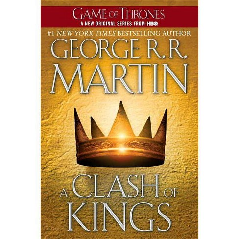 A Clash of Kings ( Song of Ice and Fire) (Reprint) (Paperback) by George R. R. Martin - image 1 of 1